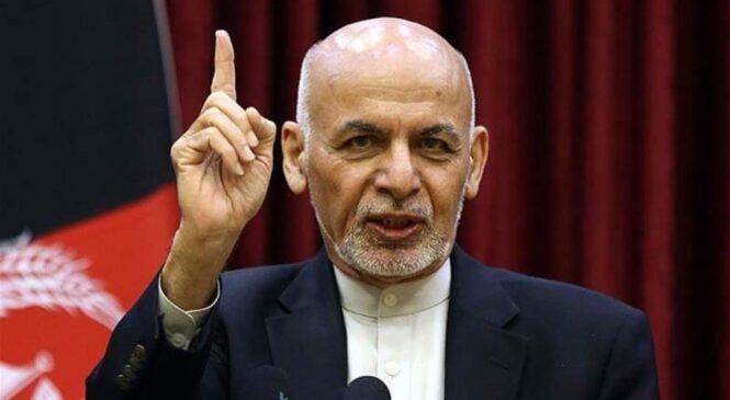 रसाए दुनियाका आँखा ! देश छा, डेर भागेका अफगानी राष्ट्रपतिले विदेशबाट पहिलो पटक दिए सार्व जनिक अभि, व्यक्ती,