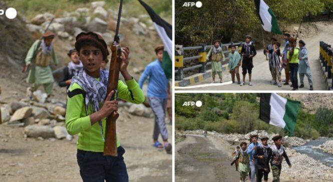 अफगानिस्तानमा यी 'बाल लडाकु जो तालिबानवि, रुद्ध हो, मिएका छन'